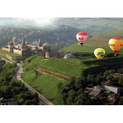 Фестиваль воздухоплавания в Каменец-Подольском