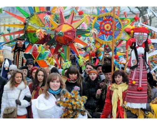 Рождество во Львове и Луцке