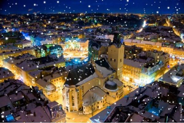 Поездка во Львов и Карпаты на Рождество
